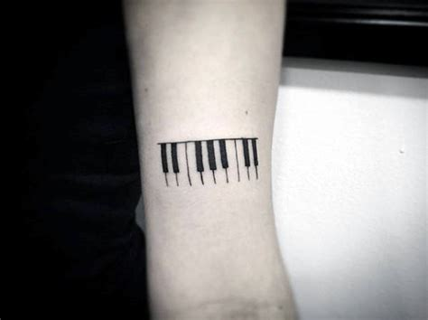 60 piano tattoos for men music instrument ink design ideas