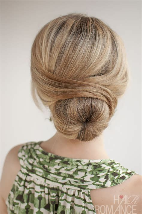 hairstyles buns pics 30 buns in 30 days day 29 the wrapped bun hair romance