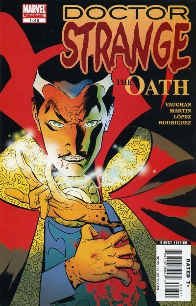 blood oath the darkest drae volume 1 books doctor strange the oath vol 1 1 marvel comics database