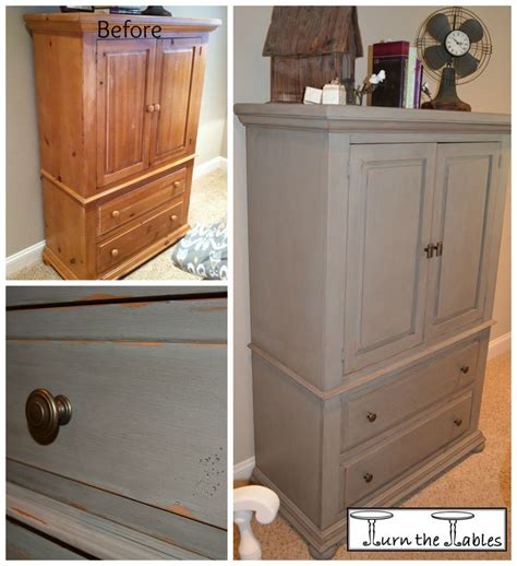 entertainment center makeover on pinterest painting oak 1000 images about large cabinets hutches display cases