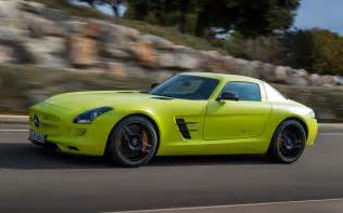 mercedes sls amg electric drive drive motor trend