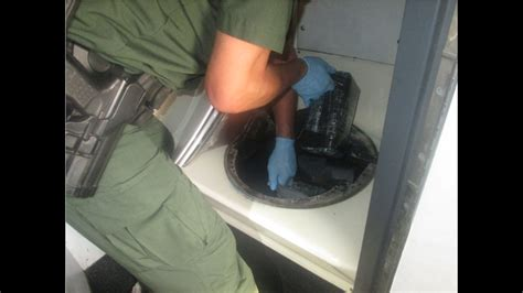 border patrol finds big cocaine stash in bathroom of a bus