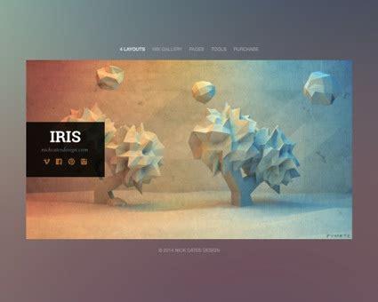 rapidweaver themes exles iris theme for rapidweaver nick cates design