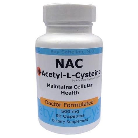 supplement n acetyl cysteine acetylcysteine supplement health benefit dosage safety