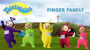 teletubbies colors teletubbies finger family nursery rhymes lyrics