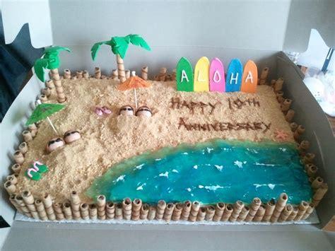 Wedding Anniversary Ideas In Hawaii by Hawaiian Anniversary Cake Cakecentral