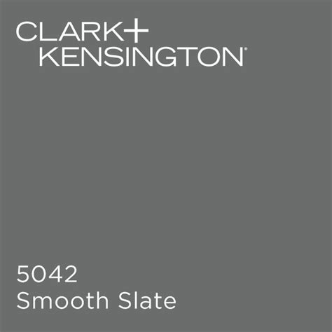smooth slate by clark kensington paint