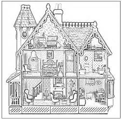 printable coloring pages rooms house best photos of house rooms coloring pages inside house