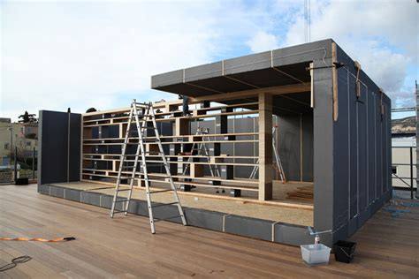 pop up homes 70m 178 office in marseille popup house