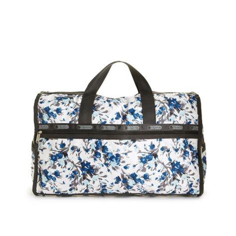 Lesportsac Large Weekender Bag lesportsac large weekender bag in blue grace lyst