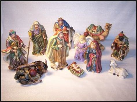 Home Interiors Nativity Set 2001 Homco Home Interiors Quot The Nativity Quot 12 Nativity Set 54035 01