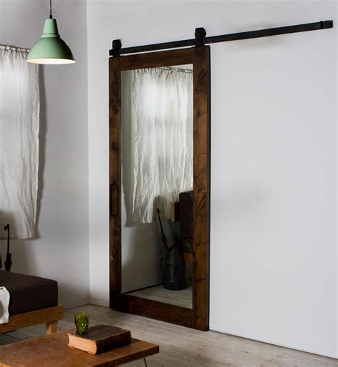 mirror in front of bedroom door how to build and decorate with rustic mirror frames