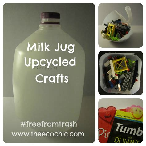 best upcycling projects milk jug upcycled crafting freefromtrash a ta green