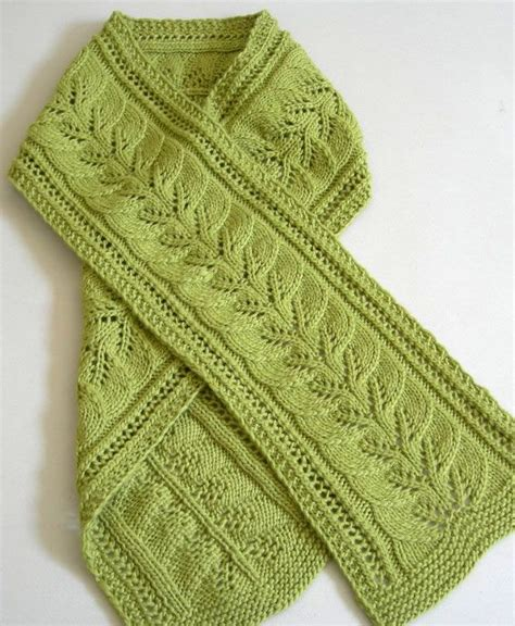 pattern leafy columns 215 best knit scarves cowls and wraps images on pinterest