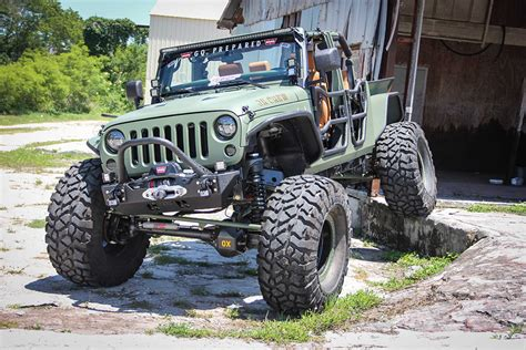 Bruiser Jeep Bruiser Conversions Jeep Jk Crew The Awesomer