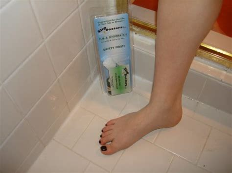 slippery bathtub solutions bathtub non slip shower safety treatment kit babitha