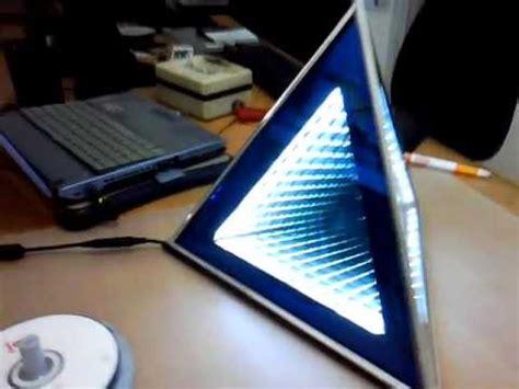 infinity mirror computer desk infinity mirror pyramid