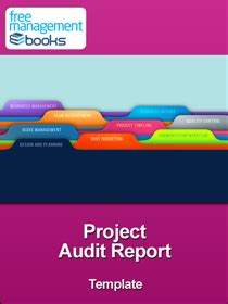project audit report template project audit report template