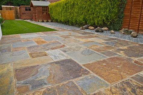 Garden Tiles Ideas Rustic Copper Slate Paving Patio Kit Back Garden Pinterest Slate Paving Slate And Patios