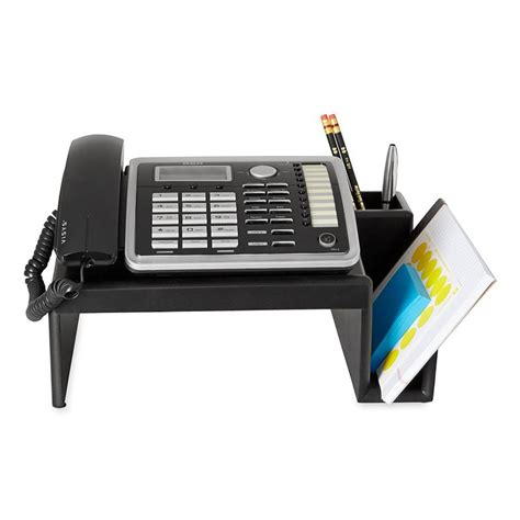 Telephone Desk Stand by Desk Phone Stand For Easy Organization