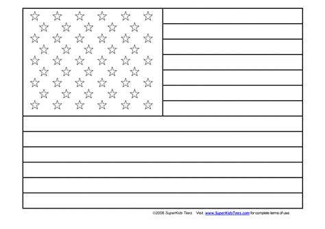 coloring page for united states flag flag coloring pages free large images