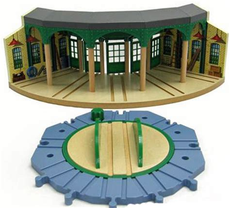 Wooden Railway Tidmouth Sheds by Friends Wooden Railway Tidmouth Sheds