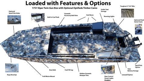 excel boat t top duck boat rail accessories best duck 2017