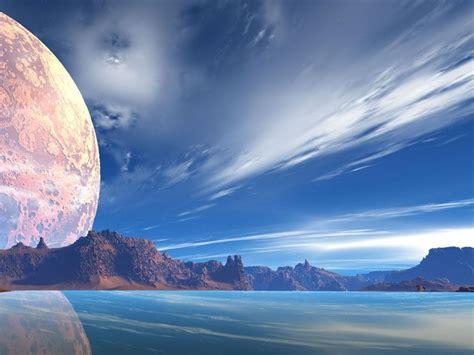 imagenes de paisajes muy hermosos fonditos hermoso reflejo ciencia ficcion paisajes
