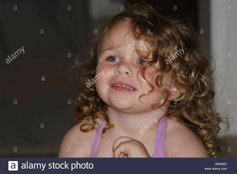 average hair for 3 year old a 3 year old girl with beautiful curly hair and a