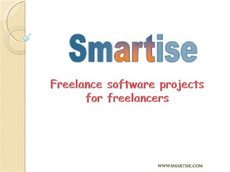 Free Lance Projects For Mba by Freelance Software Projects For Freelancers