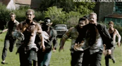 zombie types gif find  gifer