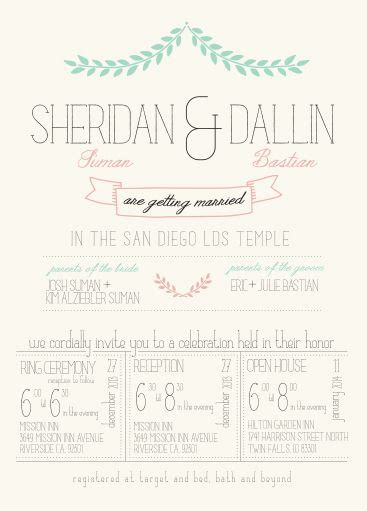wedding invitations utah pin by utah announcements on lds wedding invitations