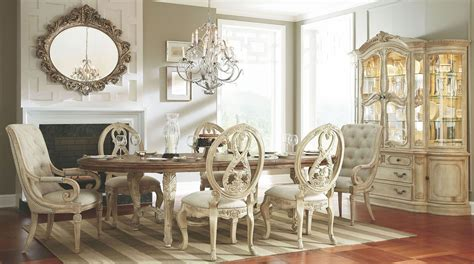 jessica mcclintock dining room set jessica mcclintock boutique white veil oval dining room