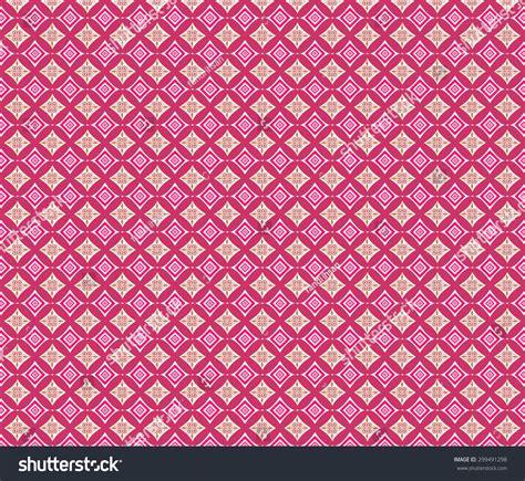 wallpaper batik pink pink batik background pink batik pattern stock vector