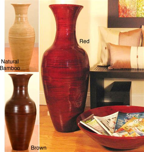 36 Inch Vase by 36 Inch Bamboo Floor Vase Vases By