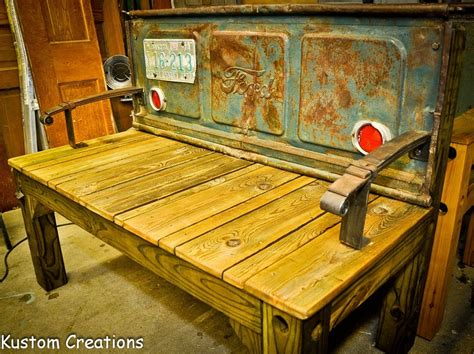 old truck tailgate bench old pickup tailgates attached to a bench tailgate