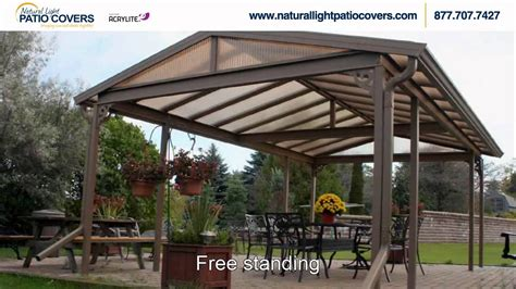 Natural Light Patio Covers   YouTube