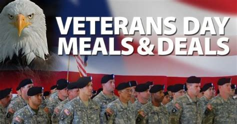 Veterans Day Food Giveaways - 2014 veterans day free meals free stays and discounts