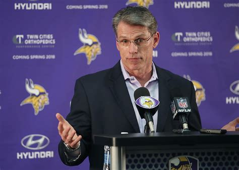 nfl gm rankings sizing up men who make it happen he likes to deal vikings gm spielman racking up the