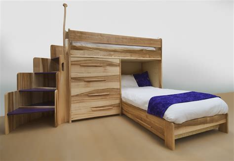 Bunk Bed With Desk And Drawers Awesome Bunk Bed Bedroom Ideas Chatodining Terrific Design For Small Feat Green Painted