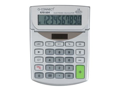 kf01604 med table top calculator q connect