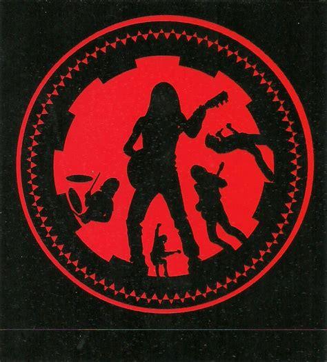 Stiker Ac stickers acdc fan