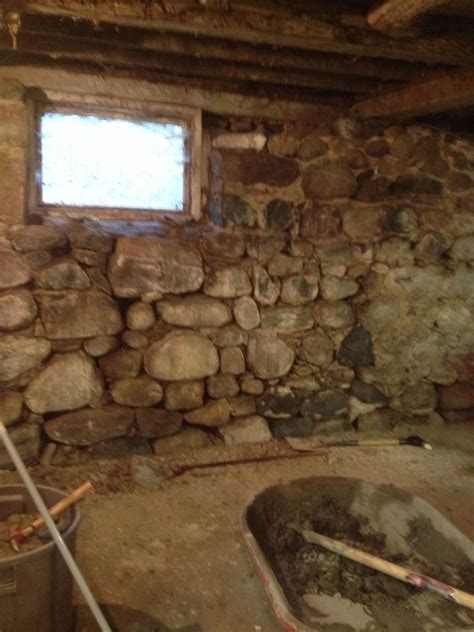 what are basement rocks foundation repair barn foundation wall restoration
