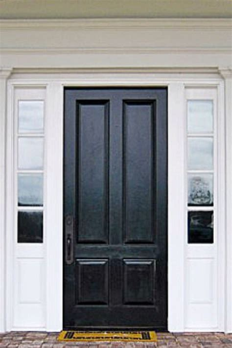 black exterior doors home exterior black front door entry doorways entry