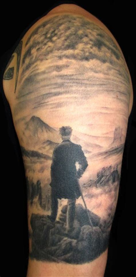 wanderer tattoo the gallery for gt wanderer above the sea of fog