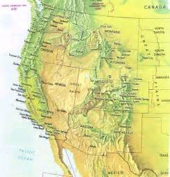 Map Western United States by Gallery For Gt Western States Road Map