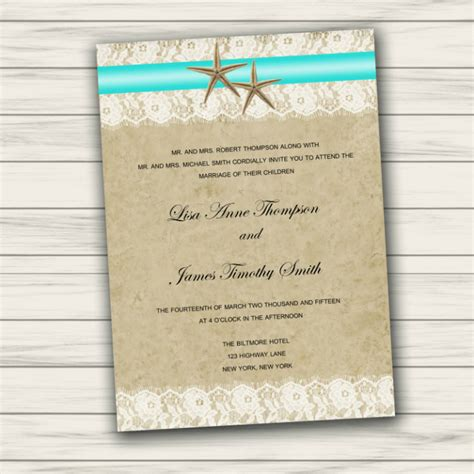 35 adorable beach wedding templates editable psd ai