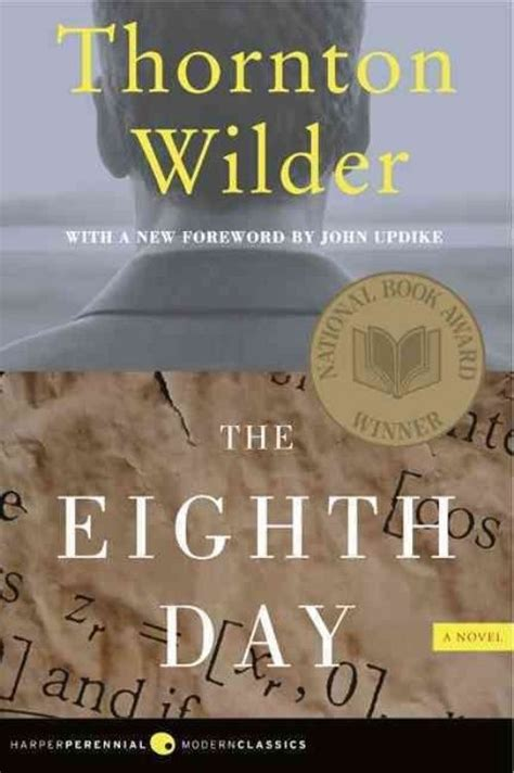 the eighth day a novel books the eighth day by thornton wilder paperback book