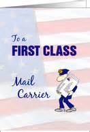 thank you cards for mailman postal worker from greeting card universe