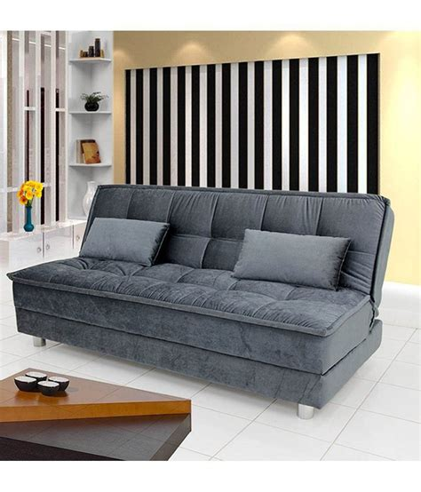 sofa bed in india sunrise sofa cum bed grey buy sunrise sofa cum bed